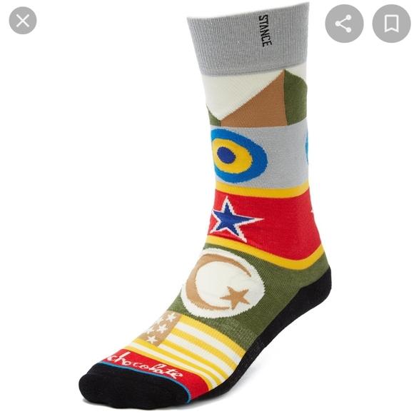 Stance Chocolate Socks L/XL 9-12